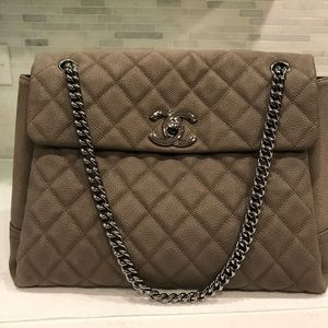 Chanel caviar flap bag